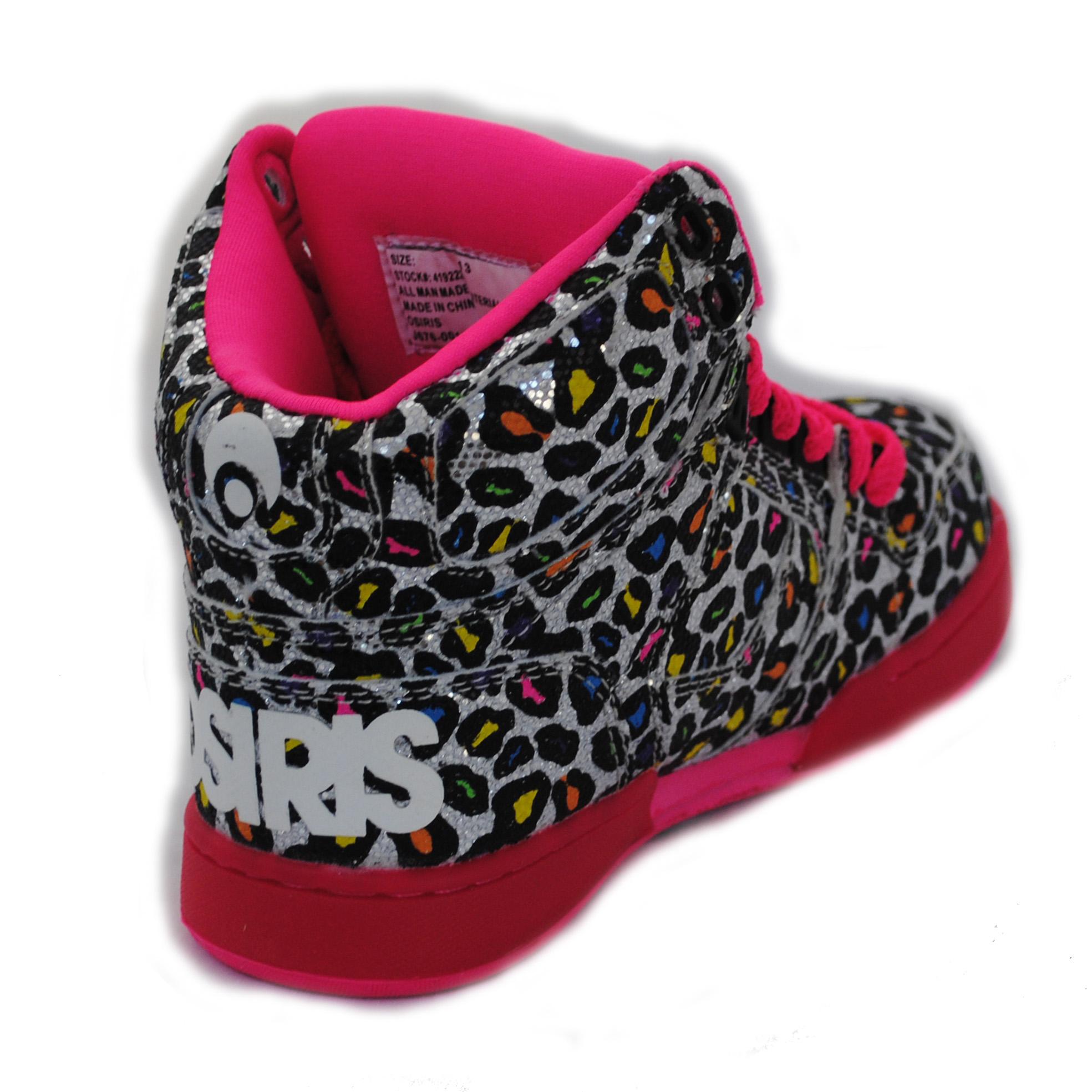 Osiris High Top Shoes For Girls Zebra Print Osiris girls kids nyc 83