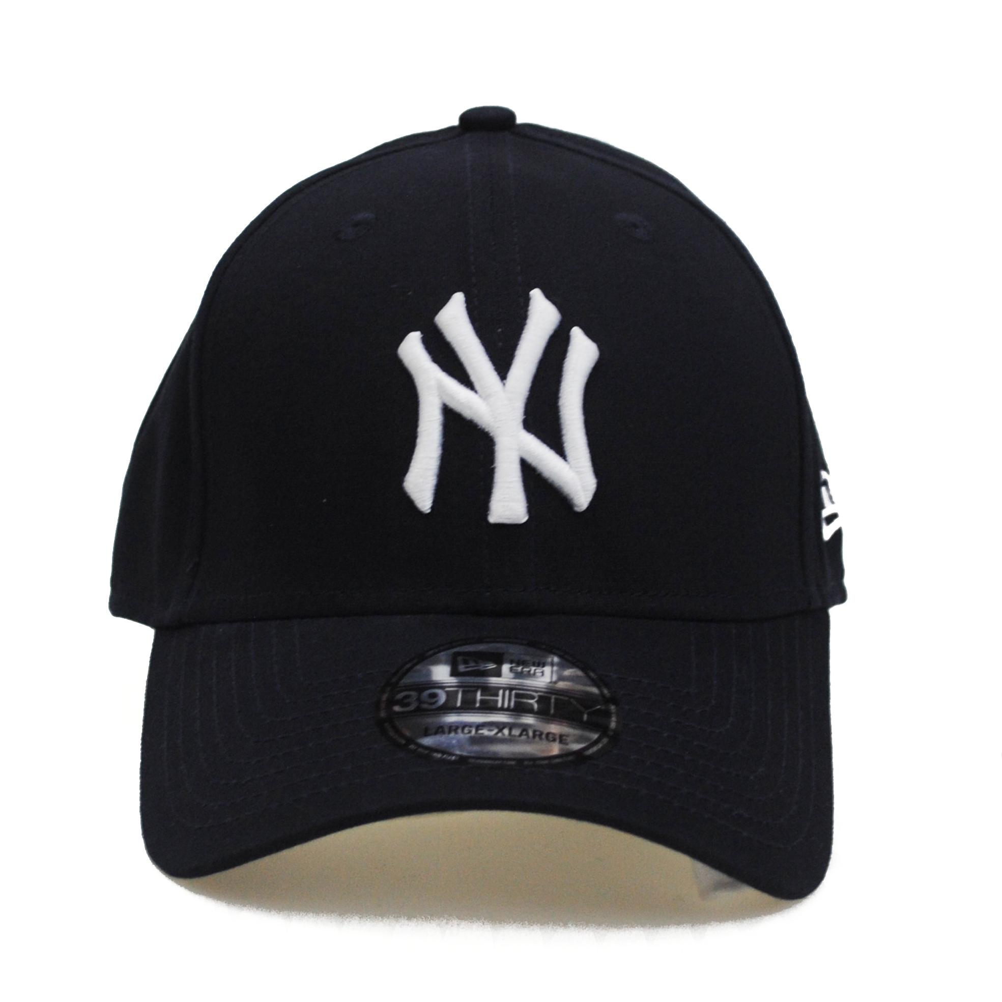new era 39thirty ny new york yankees basic league navy. Black Bedroom Furniture Sets. Home Design Ideas