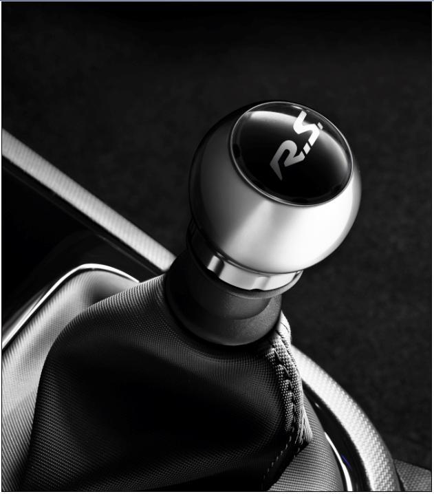 Renault Genuine Sport Satin Chrome Gear Lever Knob Rs Logo