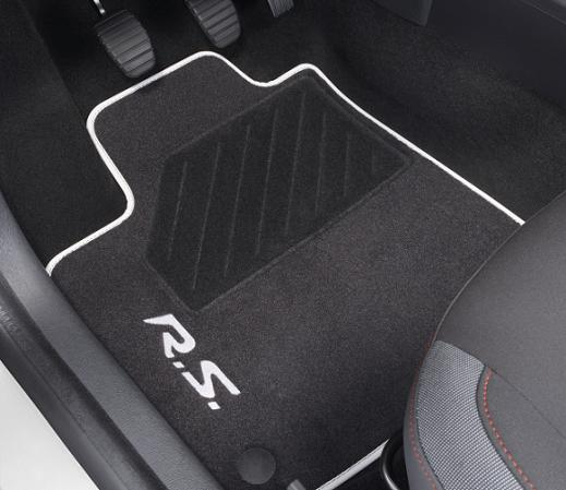 renault genuine sport megane iii textile front rear floor mats set 8201249004 ebay. Black Bedroom Furniture Sets. Home Design Ideas