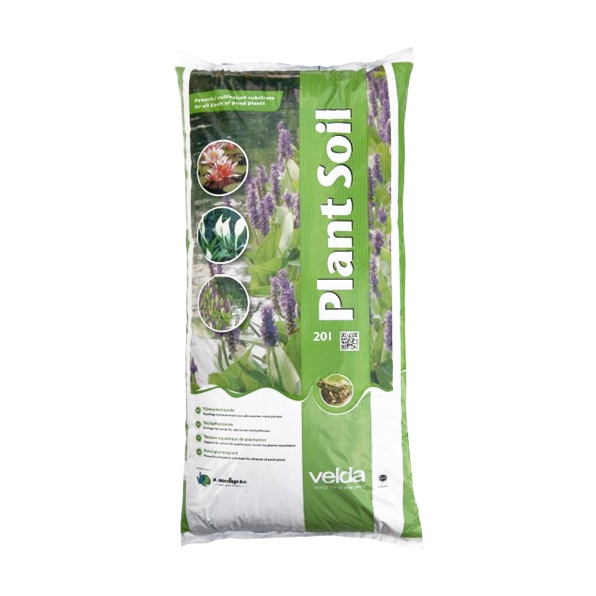 Moerings aquatic velda plant soil for pond 20 litre bag for Compost soil bags