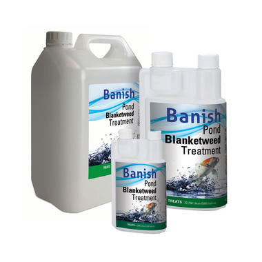 Banish Pond Blanketweed Treatment - Industrial Leisure