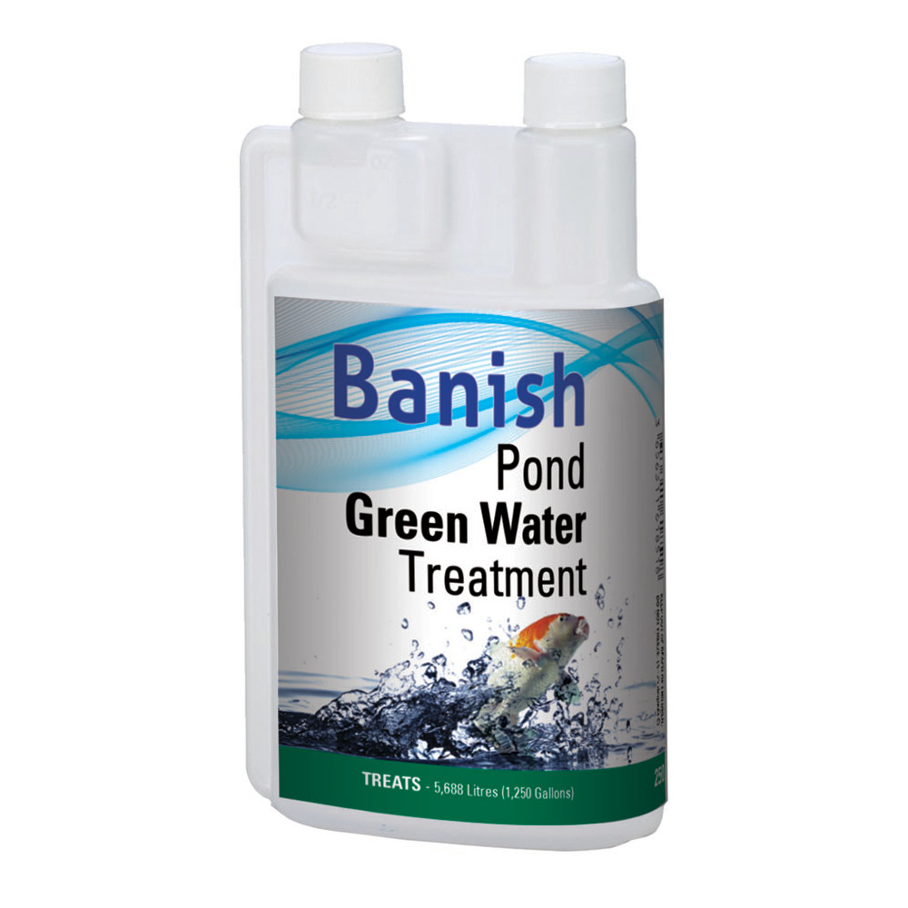 Banish pond green water treatment industrial leisure for Green water in pond