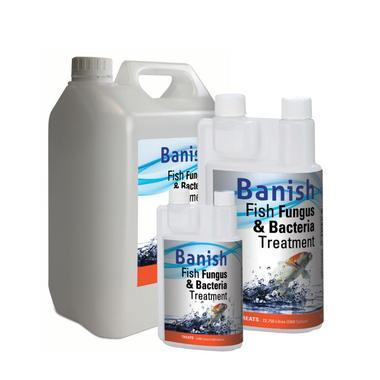 Banish Fish Fungus And Bacteria Treatment