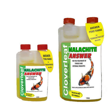 Cloverleaf Malachite Answer Fish Treatment