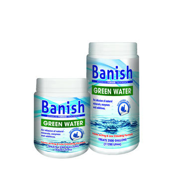 Banish Advanced Powder Green Water Pond Treatment