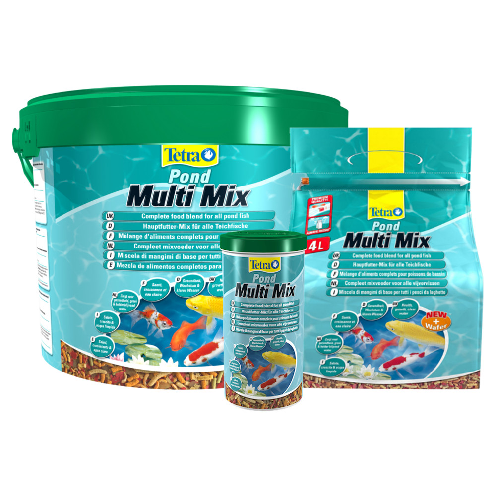 Tetra pond multi mix fish food for Pond fish food