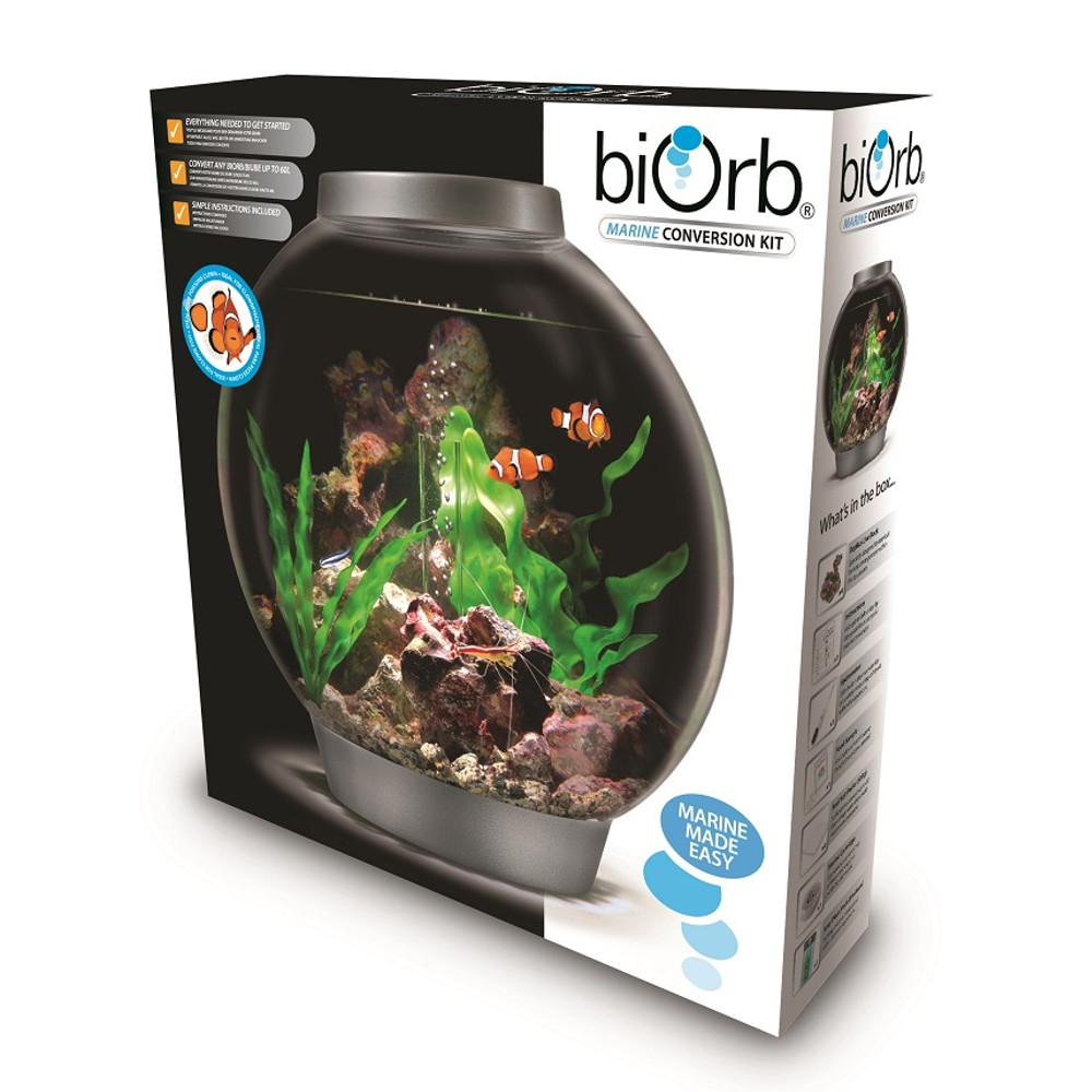 Oase biorb marine conversion kit tank aquarium tropical for Saltwater fish tank kit