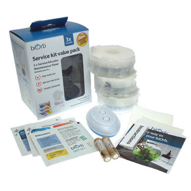 Oase BiOrb Service Kit Value Pack - 3 Filters + Timer