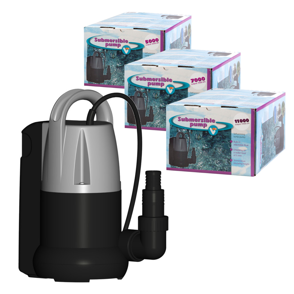 Velda vt submersible sump pumps for Pond drain pump