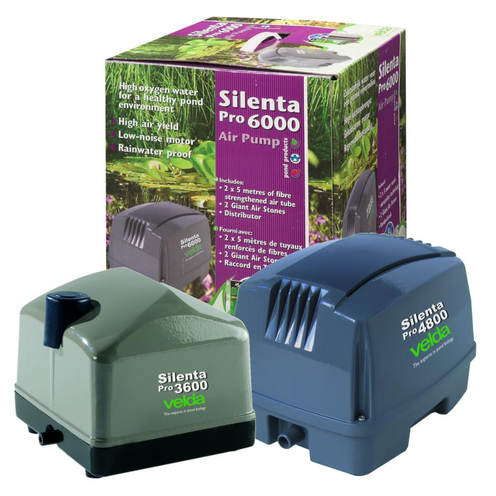 Velda Silenta Pro Pond Air Pump Aerator Oxygen Outdoor System Garden Koi Fish Ebay