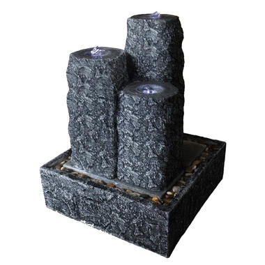 Velda Diyaluma 3 Columns on Base Outdoor Water Feature