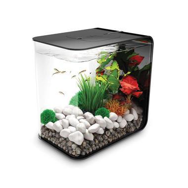 BiOrb Flow 15L Black Aquarium with Standard LED Lighting