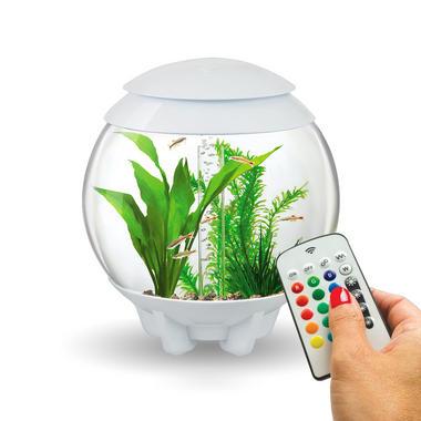 BiOrb Halo 15L White Aquarium with MCR Lighting