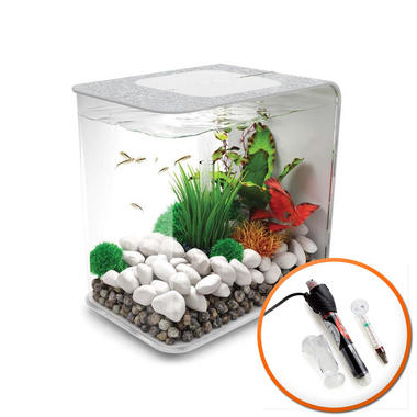 BiOrb Flow 15L Silver with LED Lighting & Heater