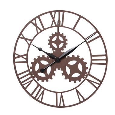 Vintage Gear Design Wall Mounted Clock