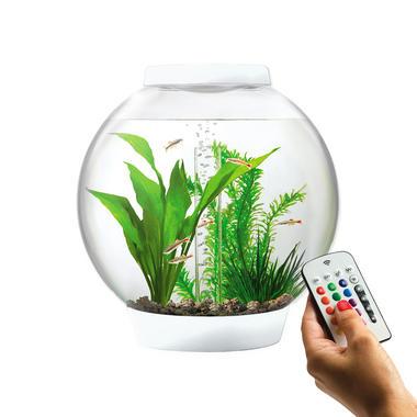 Baby BiOrb 15L White Aquarium with MCR LED Lighting