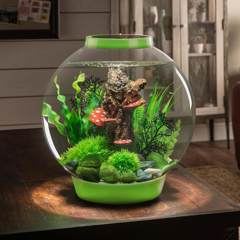 Biorb Classic 30l Leaf Green Aquarium With Standard Led