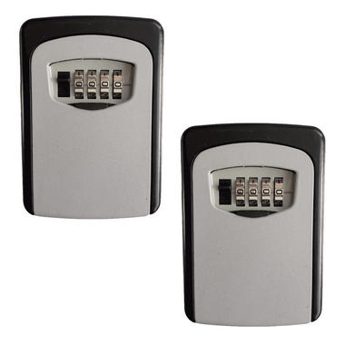 Pisces Wall Mounted Key Safe (2 Pack)