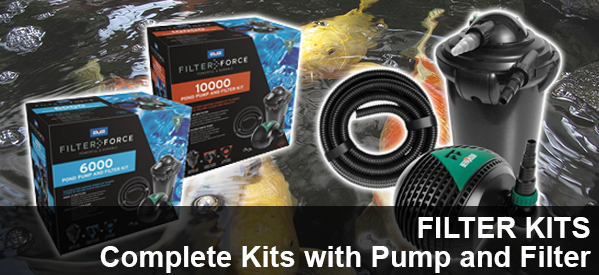 Pond Pump and Filter Kits