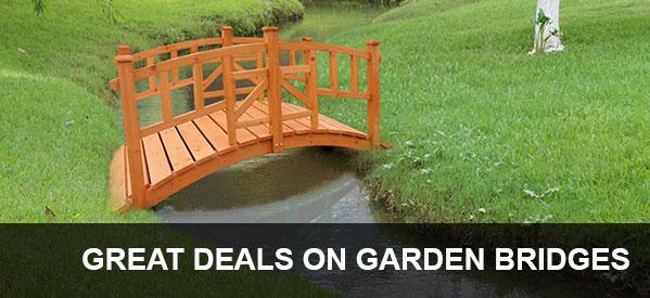 Ornamental Garden Bridges from Aquatix-2u