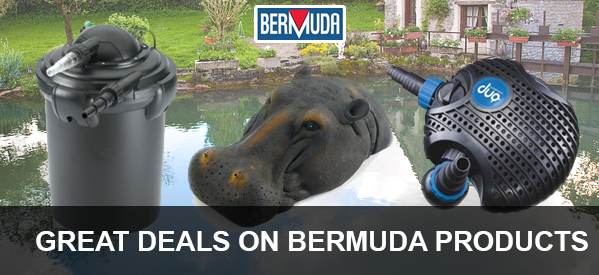 Choose from a massive range of Bermuda pond products