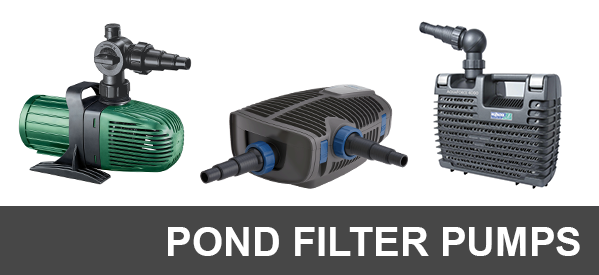 Pond Filter Pumps, Waterfall Pumps & Fountain Pumps
