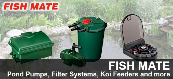 The best deals on Fish Mate pond equipment
