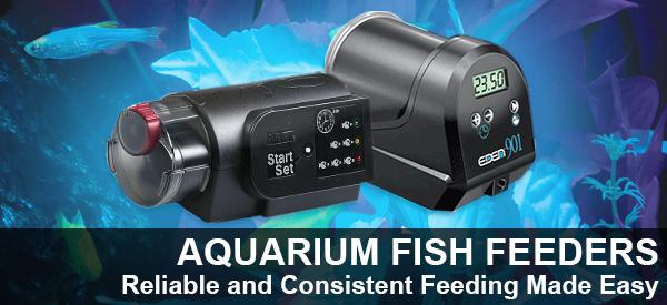 Reliable and Consistent Aquarium Fish Feeders