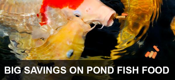 Pond pumps aquarium filters fish food water treatments for Pond fish stocking calculator