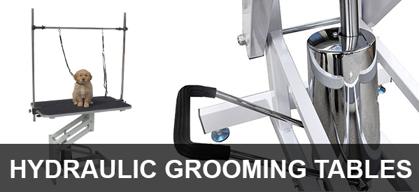 Hydraulic Pet Grooming Tables