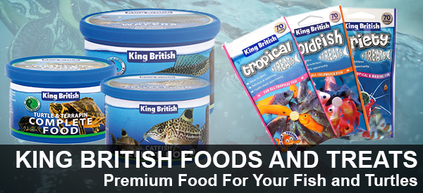 High Quality Aquarium Fish Food by King British
