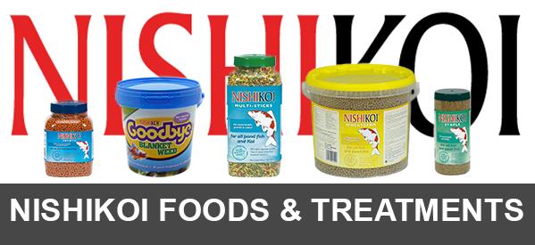 Great Deals on Nishikoi Fish Food & Pond treatments