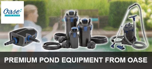 Oase Aquamax Pump, Biotec Filters And Ponvac Vacuums