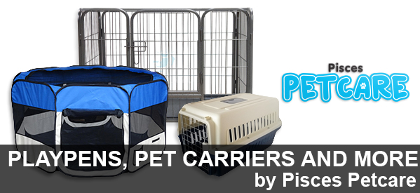 Pet Carriers, Playpens and more from Aquatix-2u