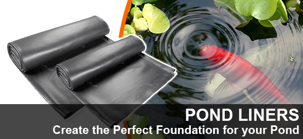 Create the Perfect Foundation with Pond Liner from Aquatix-2u