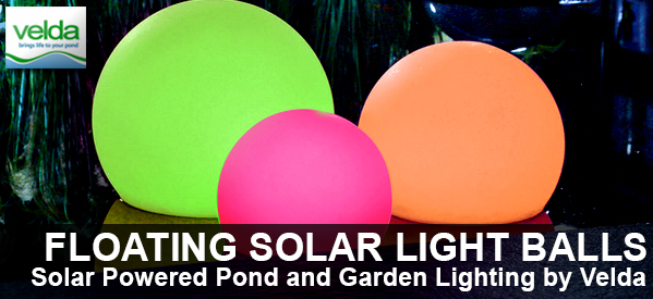 Velda Floating Solar Light Balls