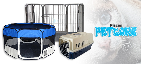 Pet Puuurfect Playpens by Pisces Petcare