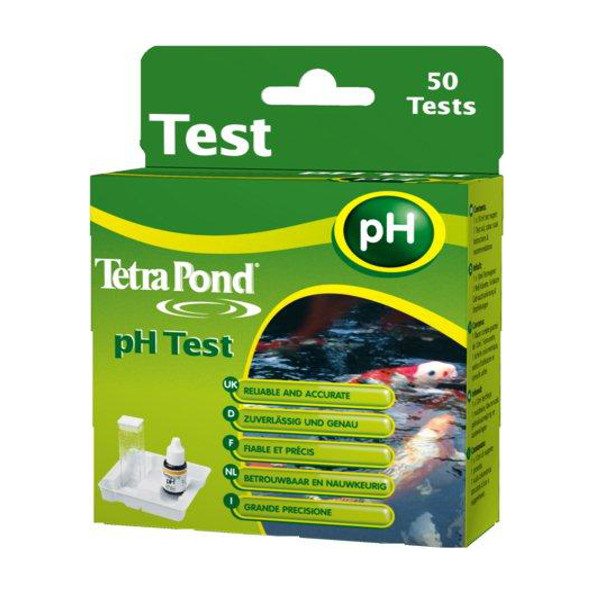 Tetra tetrapond water test kit ph levels liquid koi fish for Koi pond water quality levels