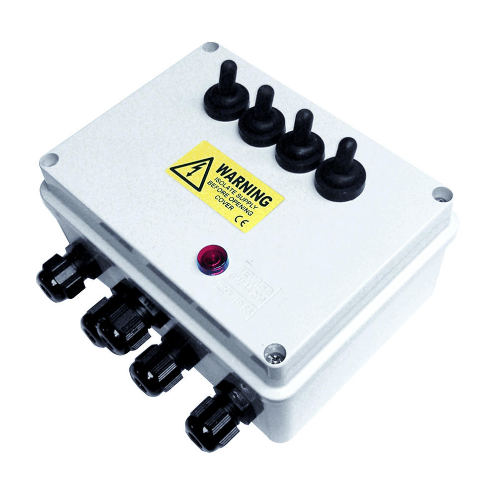 Multi Switch Outdoor Pond Electrical Switch Boxes Pisces