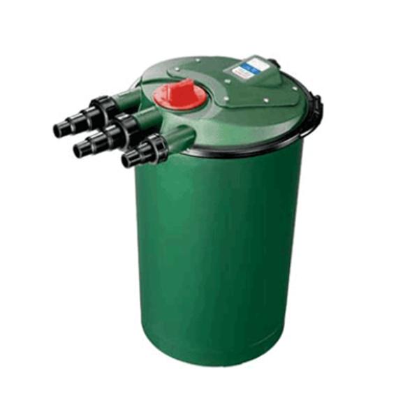 Fish mate powerclenz 15000 p bio pressure pond filter bio for Pressurised pond filter