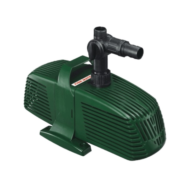 Fish mate pond filter pumps all models water fountain for Best pond pumps
