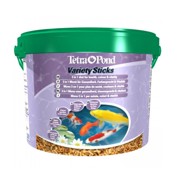 Tetra variety sticks 10 litre 1650g bucket for Pond fish food