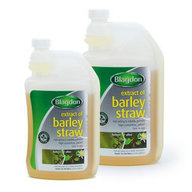 Blagdon Barley Straw Extract Pond Treatment