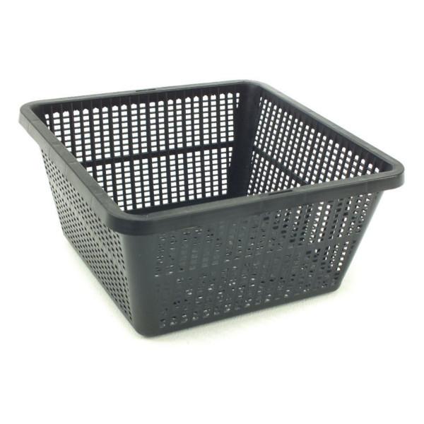 6 pack square planting basket 19 x 19 x 9cm for Plastic pond plants