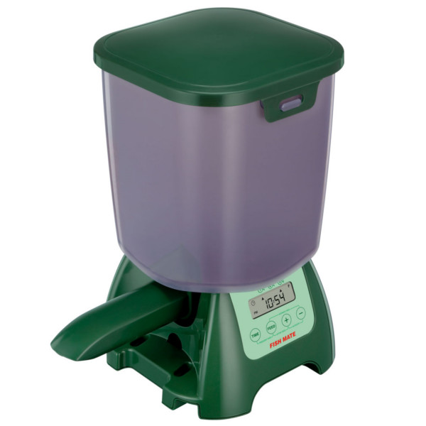 Fish mate p7000 automatic pond fish feeder for Fish feeders for ponds