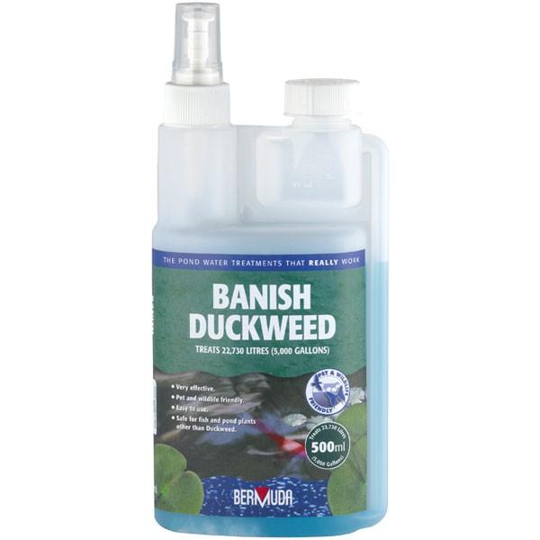 Bermuda 250ml 500ml 1 litre banish duckweed water for Koi pond treatment