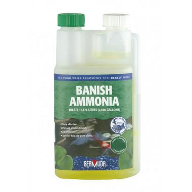 Bermuda Banish Ammonia Pond Treatment