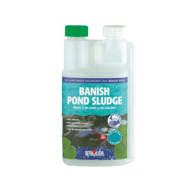Bermuda Banish Pond Sludge Treatment