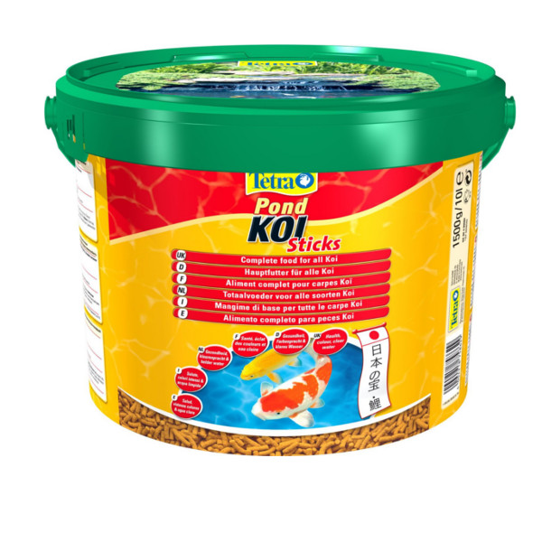 650 1100 1500 2350g 7 5kg tetra pond koi sticks floating for 1500 gallon koi pond